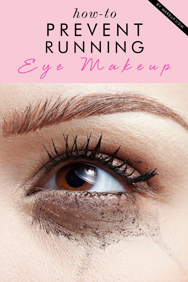 MAKEUP TIP: how to prevent eye makeup from running
