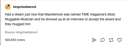 how much more must he mackle
