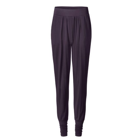 curare wide pants aubergine