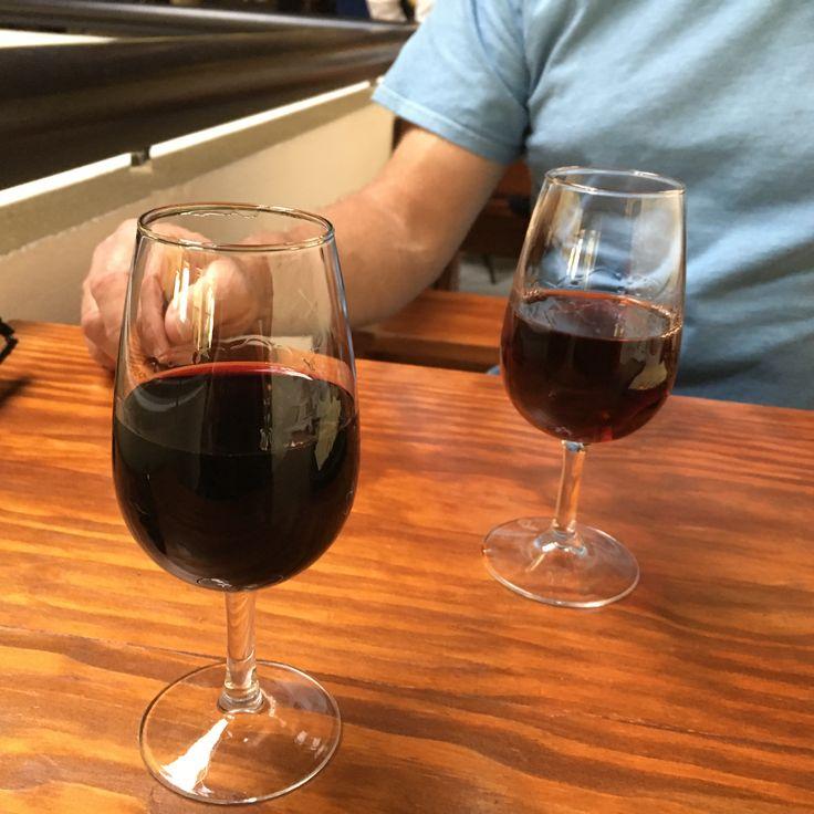 Tasting vintage and tawny Port at Sandeman Winery Vila Nova de Gaia #cathytravelling