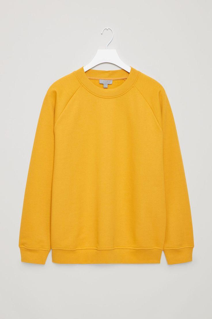 COS | sweatshirt in Yellow Reddish