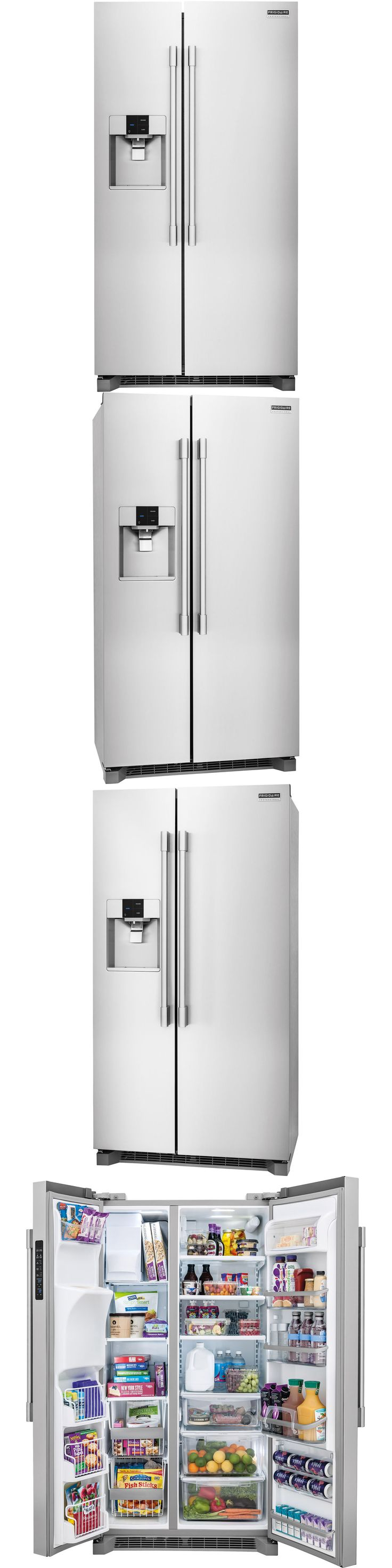 Refrigerators 20713: Frigidaire Stainless Pro Counter-Depth Side-By-Side Refrigerator Fpsc2277rf -> BUY IT NOW ONLY: $1799 on eBay!