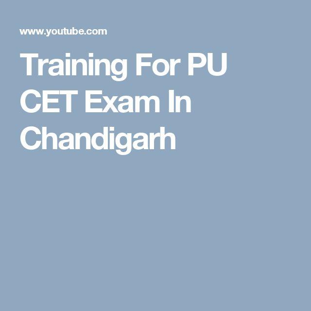 Training For PU CET Exam In Chandigarh