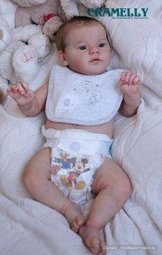 Утенок реборн из мастерской CRAMELLY / Куклы Реборн Беби - фото, изготовление своими руками. Reborn Baby doll - оцените мастерство / Бэйбики. Куклы фото. Одежда для кукол