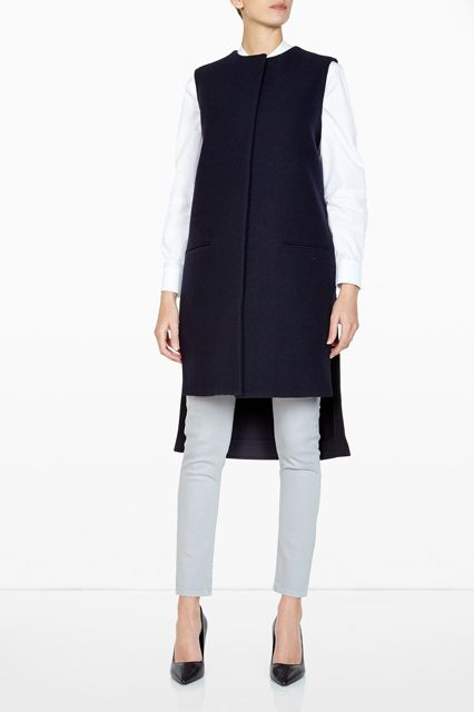 Long Chic Vests - Fall 2014 Outerwear