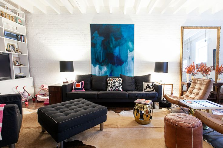 This nyc apartment will inspire your own home high low for Inspire apartments