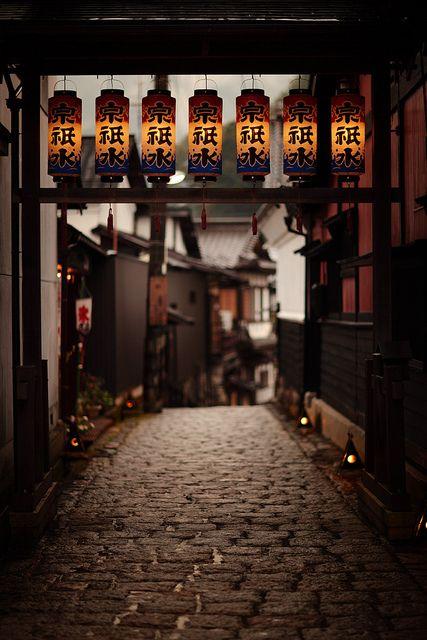 Gujyo Hachiman, Gifu, Japan 郡上八幡 岐阜