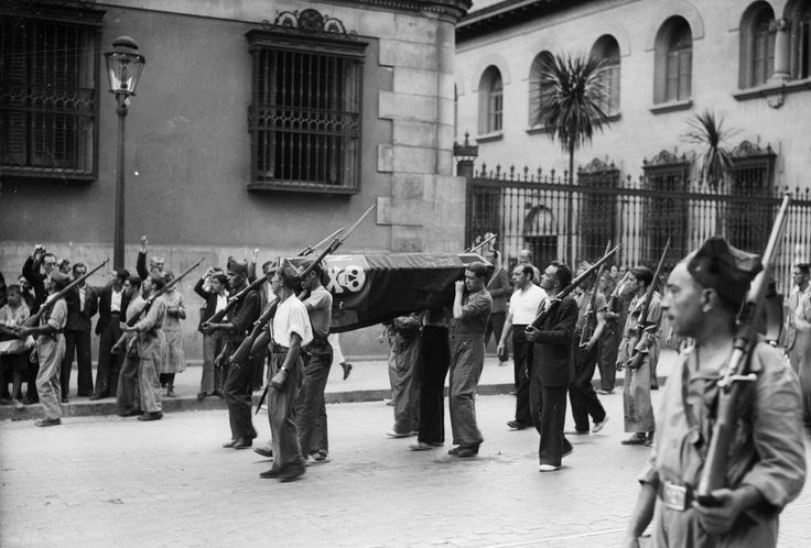 Spanish Civil War 17 July 1936 / 1 April 1939 -