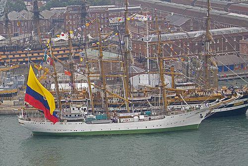 Colombia Tall Ship ARC Gloria