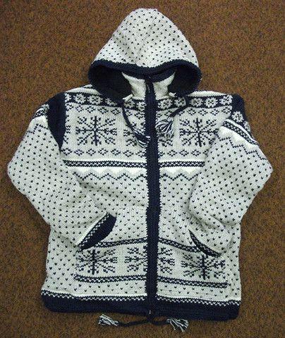 Snowflake Sweater – Real Wool Shop