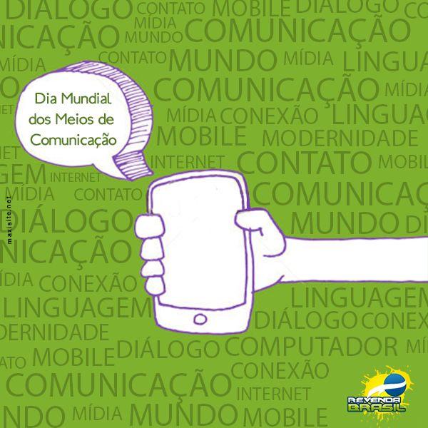 Dia Mundial Dos Meios de Comunicação - Maxisite Comunicação