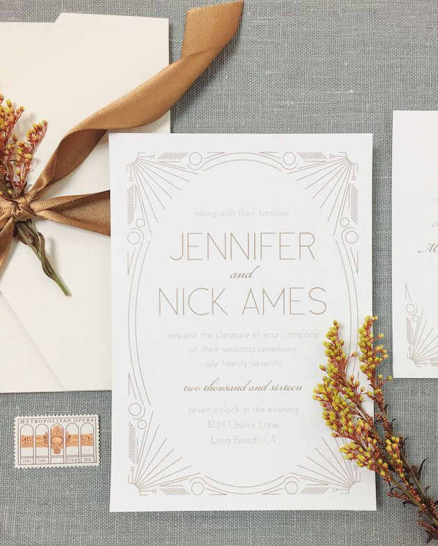 are labels on wedding invitations tacky%0A Wedding Invitation Inspiration with Basic Invite