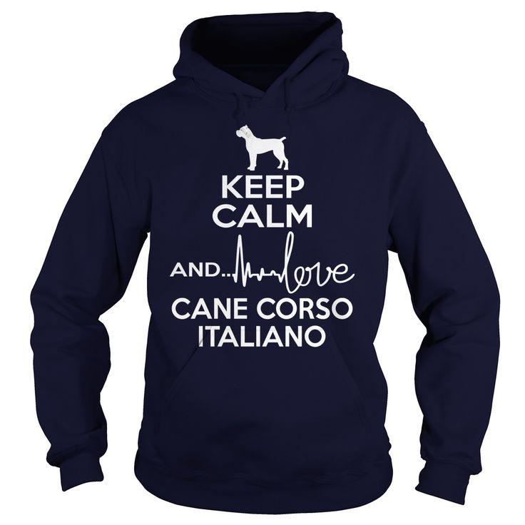 Keep calm and love Cane Corso Italiano