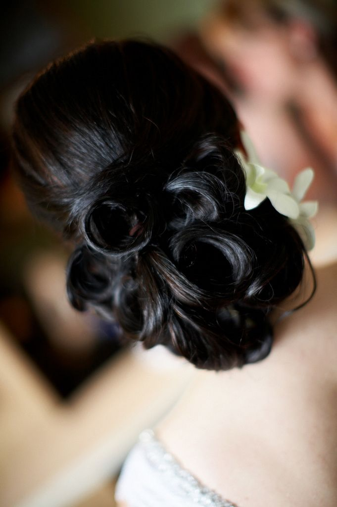 Classic Bridal Updo Hairstyle : 7 best images about classic wedding hair updos on pinterest