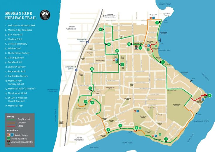 The Mosman Park Heritage Trail | Town of Mosman Park