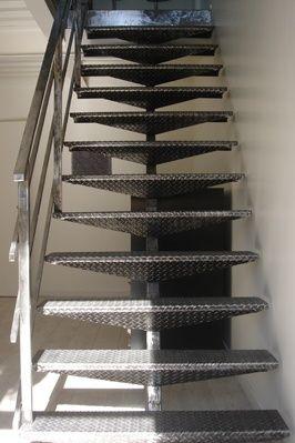 Escalier métal- Stéphane Rozand