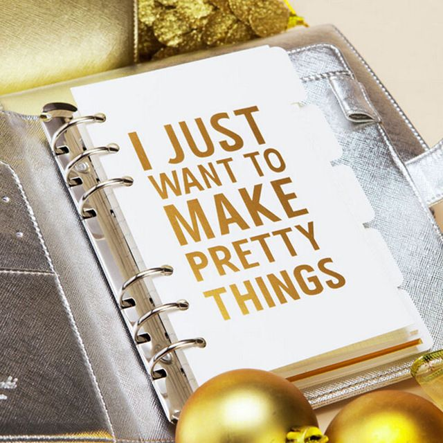 Online Shop Dokibook Notebook Planner Accessories Gold Inside Page 5pcs/Set A5 A6 Dividers Plate Filler Papers Planner Match Filofax Kikkik|Aliexpress Mobile