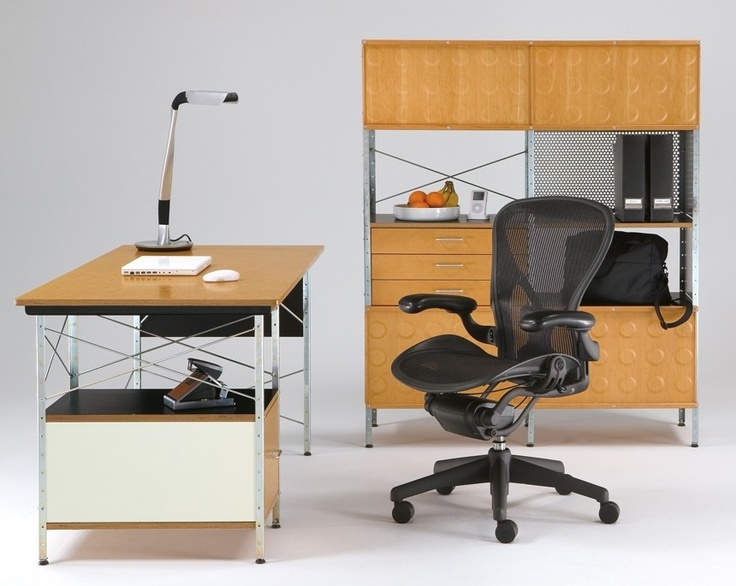 Herman Miller Eames® Storage Unit Eames desk, Desk units