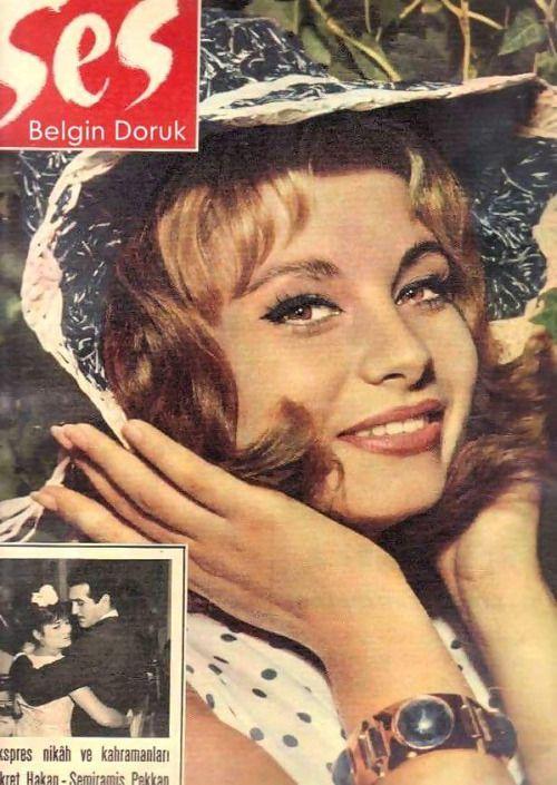 Belgin Doruk (Ses Dergisi)#birzamanlar #istanlook #nostalji