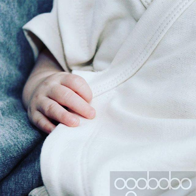 Close up view of our #madeincanada #organicbabyclothes #gotsCertifiedOrganicCotton #babyapparel #sustainablefashion #babylove