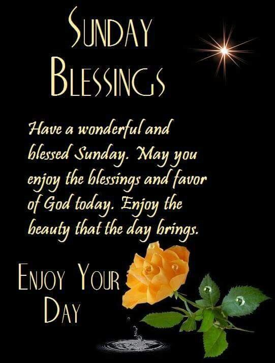 102 best images about Sunday Blessings on Pinterest ...