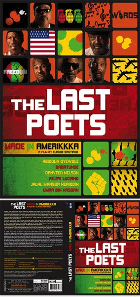 Jaquette DVD The Last Poets - Made in Amerikkka