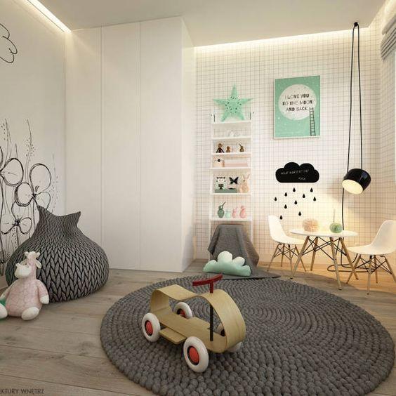 Chambre d'enfant: images, idées et décoration