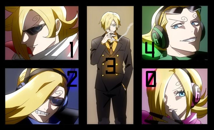 I was wondering why sanji's name meant 3 o clock before this ark