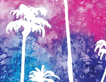 """Check out new work on my @Behance portfolio: """"Sunset in Paradise"""" http://on.be.net/1NnlwH8"""