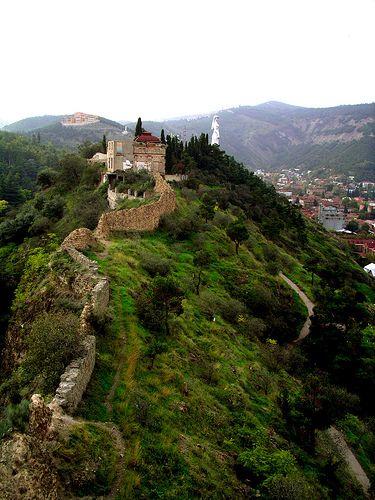 Грузия. Крепость Нарикала - сердце Тбилиси