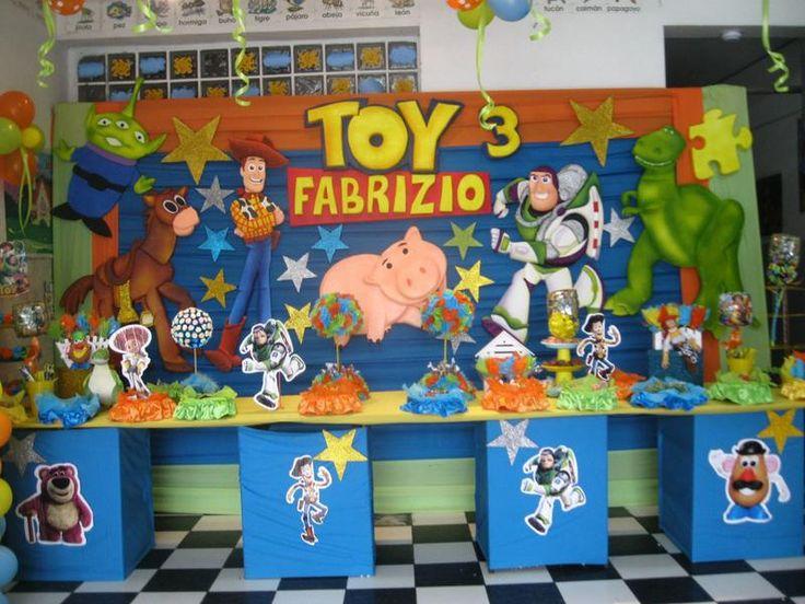 Decoracion de toy story 2 para cumplea os buscar con - Decoracion para cumpleano ...