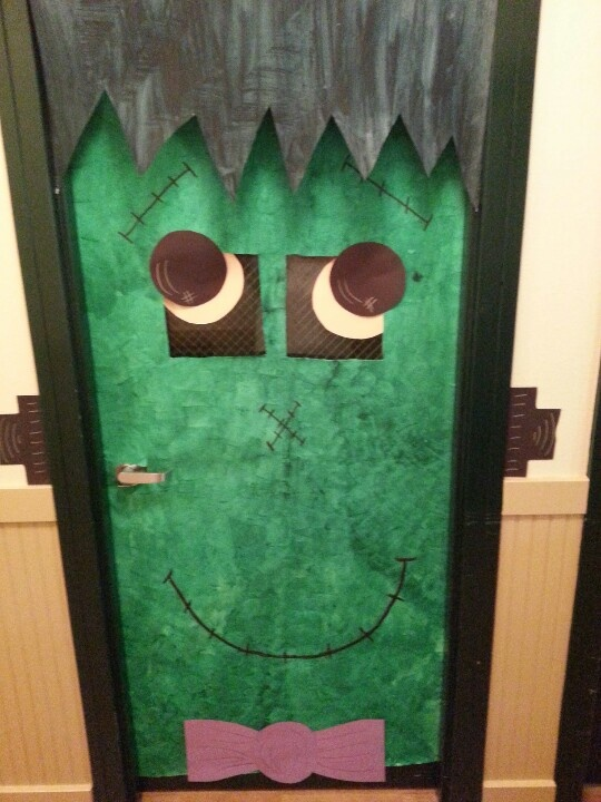 Diy Halloween Classroom Decorations ~ Best porte de classe images on pinterest decorated