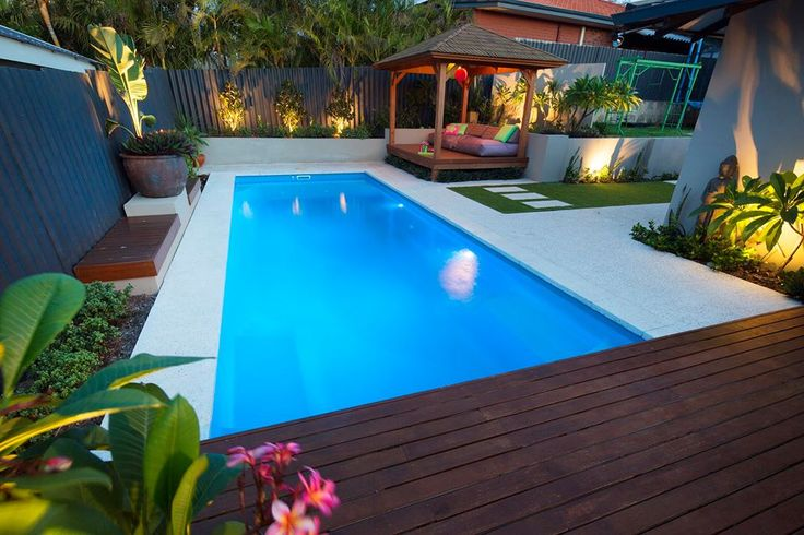 8 best granite paving and pools images on pinterest for Plunge pool design uk