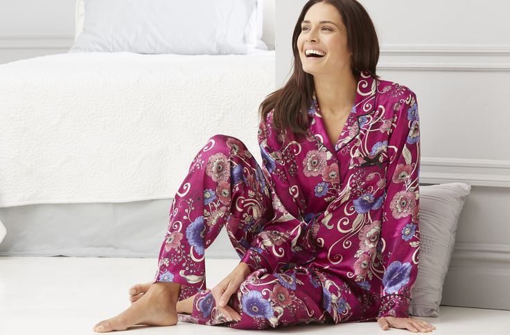 The night is just right for dream time in PJ sets #plussize #womanwithin