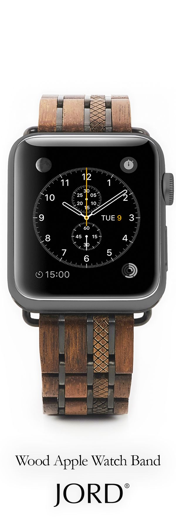 Pair your new - with our natural! JORD's *new release* wood band comes with a 38mm or 42mm adapter and a tool for changing bands out! Find your favorite at jordwatches.com - sizing and free shipping available!
