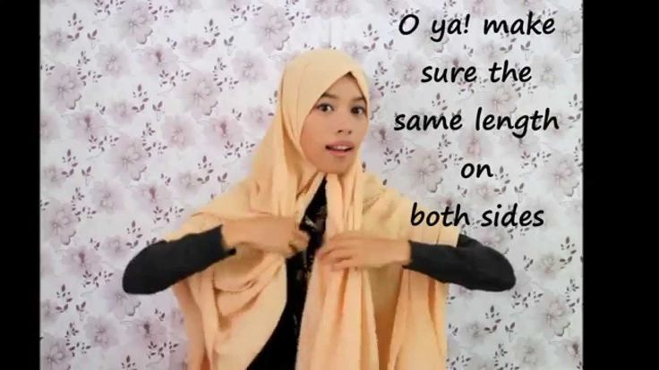 simple, syar'i & stylish hijab tutorial | chest covering!