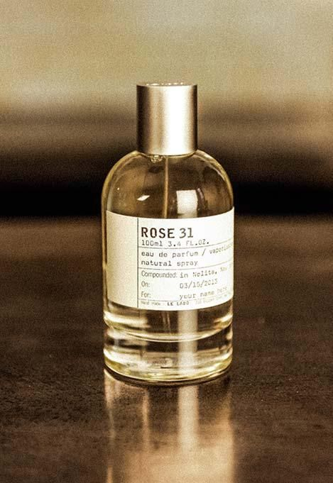 ROSE 31 - I was introduced to this Le Labo scent while staying at the Fairmont Queen Elizabeth hotel in Montreal. Hotel toiletries have never smelled so good! It's divine!