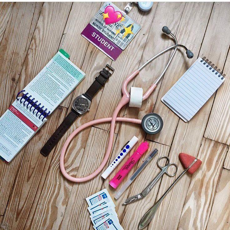 "193 Likes, 7 Comments - Powerhouses in Medicine ☤ (@powerhousenurses) on Instagram: ""Nursing student essentials for clinicals from @jasmine.valdez #powerhousenurses #nurses #nursing…"""