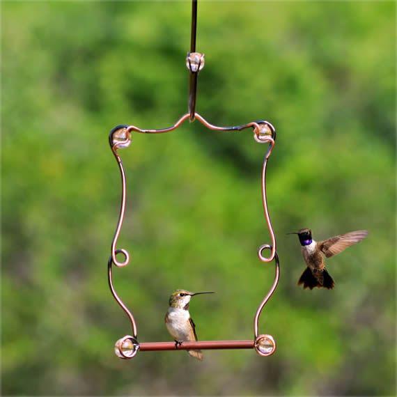 Duncraft.com: Beaded Hummingbird Perch