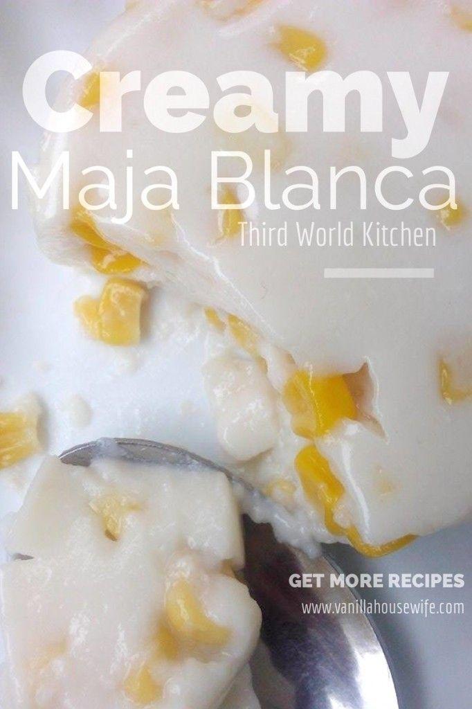 Maja Blanca con Maiz Recipe