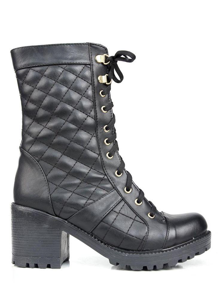 Bayan Siyah Postal Bot Modelleri Ve Uygun Fiyat Avantaja Yla Modabenle Combat Boots Boots Fashion