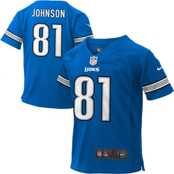 Calvin Johnson Detroit Lions Nike Toddler Game Jersey – Light Blue - $34.99