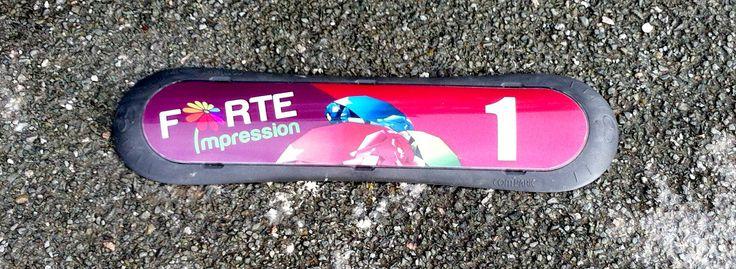 Réalisations de COM'PARK(s) pour l'aménagement du parking de l'imprimerie FORTE IMPRESSION à Poitiers.