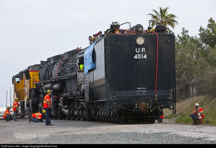 RailPictures.Net Photo: 4014 Union Pacific Steam 4-8-8-4 at Bloomington, California by Steve Crise