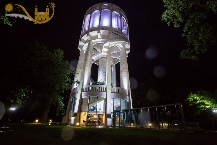 Nagyerdei Water Tower - Adventures that take you to the skies