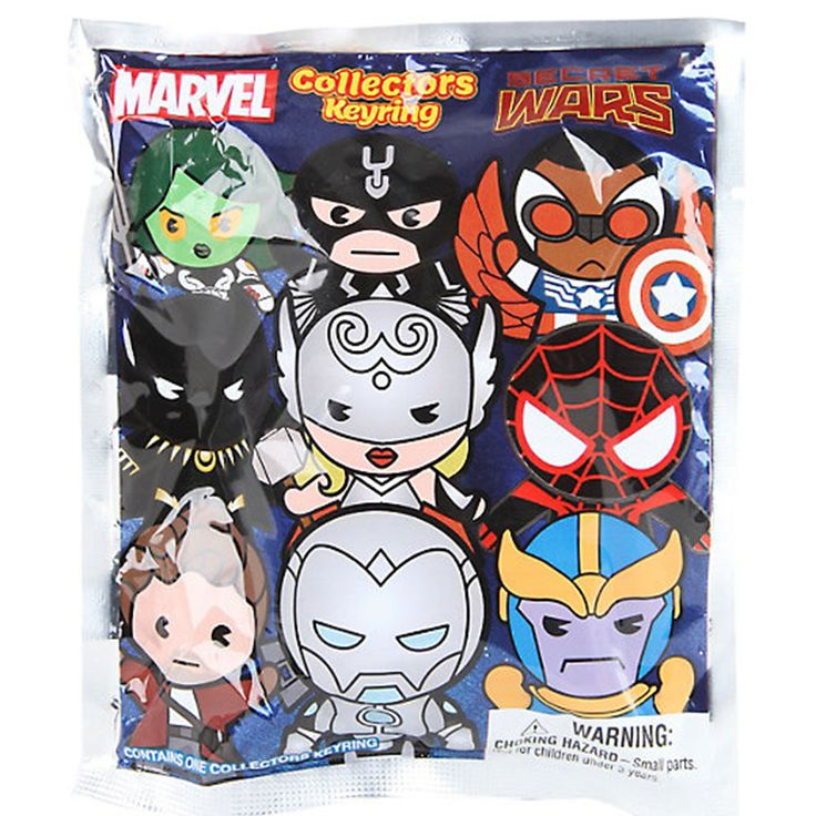 Yay! These are the Marvel Secret Wars Blind Bag Figure Keychain Keychains from Monogram. It's awesome to see that they did a run of Marvel Secret, and there is some awesome characters to chase after i