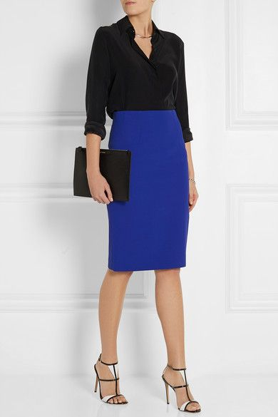 17 Best ideas about Blue Pencil Skirts on Pinterest | Navy blue ...
