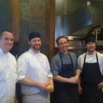 Slow Food Calgary's 2012 Roots and Shoots at  River Cafe - Thank you Chefs Dekker, Winfield, LeBoe and MacNeil