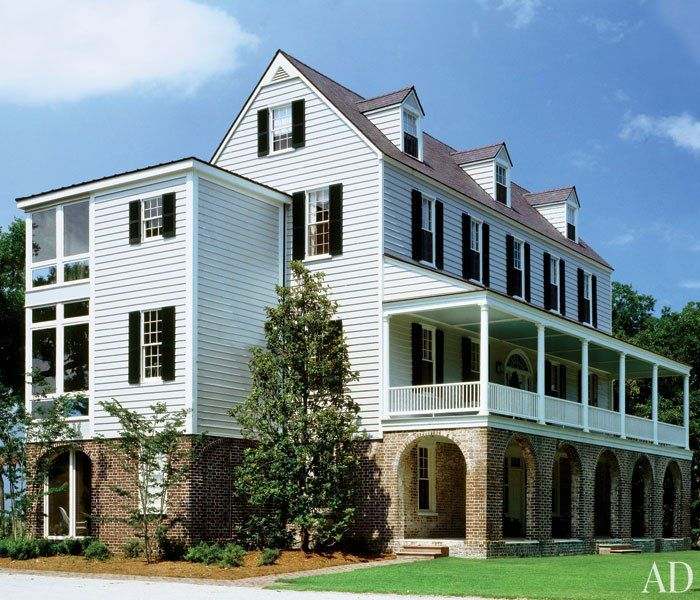 17 Best Images About Style Charleston Single House On