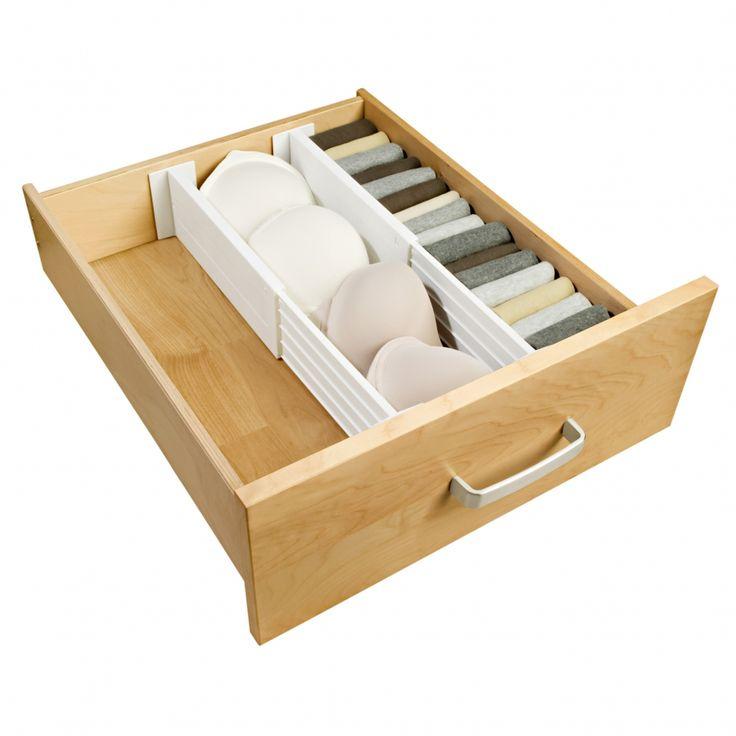 perfect mettez de luordre dans vos tiroirs avec ces sparateurs qui permettent de crer des with. Black Bedroom Furniture Sets. Home Design Ideas